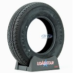 Trailer Tire ST175/80R13 Radial Tire 13 in Load Range C 1360lb by Loadstar