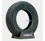 Trailer Tire ST205/75R15 Radial 15 in Load Range C 1820lb by Loadstar
