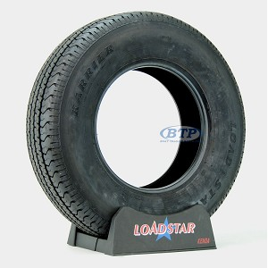 Trailer Tire ST215/75R14 Radial 14 in Load Range C 1870lb by Loadstar