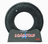 Trailer Tire 4.80 x 8 Bias Load Range B 590lb by Loadstar