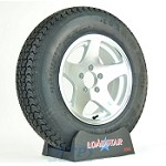 Boat Trailer Tire ST205/75D14 on Aluminum Wheel 5 lug 5 Star by Loadstar