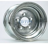 Galvanized Boat Trailer Wheel 10 inch x 6 inch 5 Lug 5 on 4 1/2