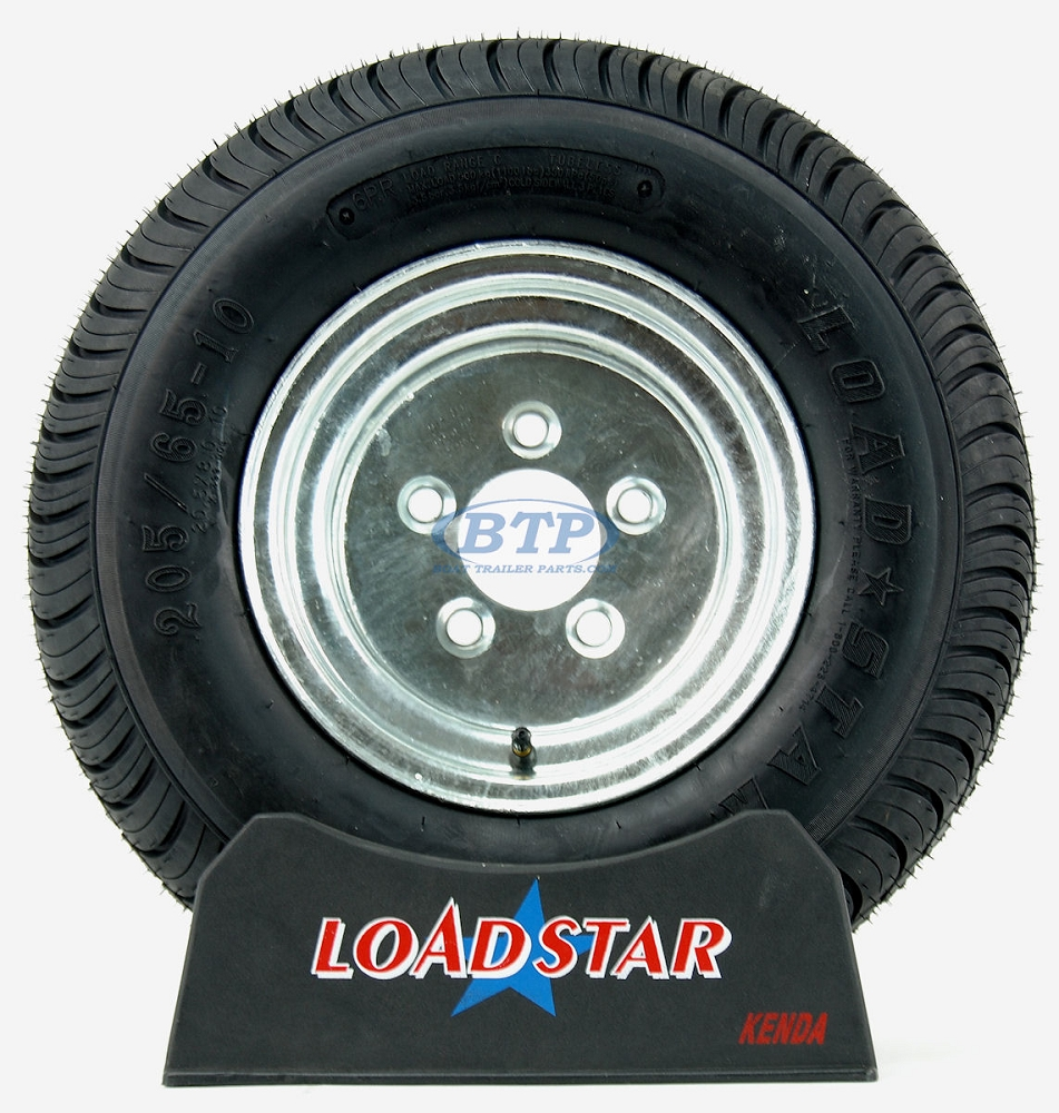"Loadstar 4 Lug 8/"" Rim Only Galvanized"