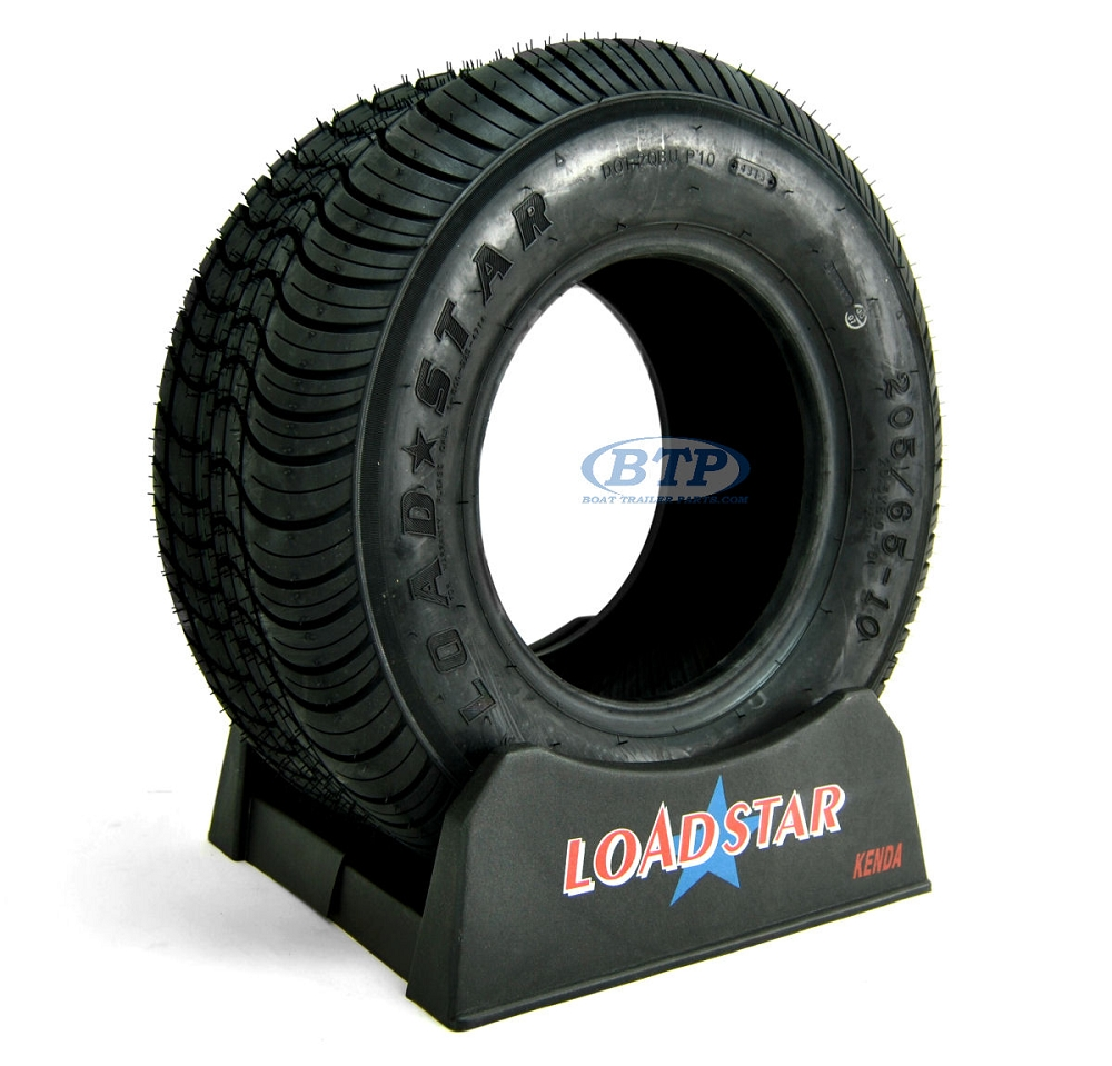 Trailer Tire 205 65 10 Aka 20 5x8x10 Load Range E 1650lb By Loadstar