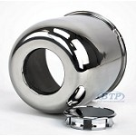 Stainless Steel Center Cap for 15 inch Aluminum Wheels 6 Lug 4.25