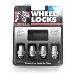 Gorilla Lock 4 Pack Wheel Locks