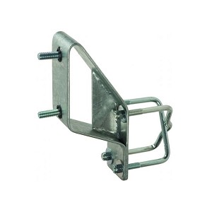 Boat Trailer Spare Tire Carrier Mounts Up and Away Galvanized