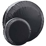 Spare Trailer Tire Cover Fits 15 inch Trailer Tires Black