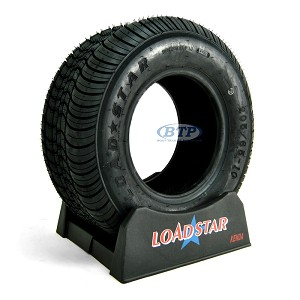 Trailer Tire 205/65-10 aka 20.5x8x10 Load Range E 1650lb by Loadstar
