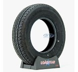 Trailer Tire ST205/75R14 Radial 14 in Load Range C 1760lb by Loadstar