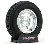 Boat Trailer Tire ST175/80R13 Radial on Galvanized Rim 5 Lug by Loadstar