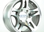 Boat Trailer Wheel 15 inch Aluminum Wheel Split Spoke 6 Lug Rim