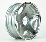 Aluminum Boat Trailer Wheel 12 inch 5 Star 5 Lug